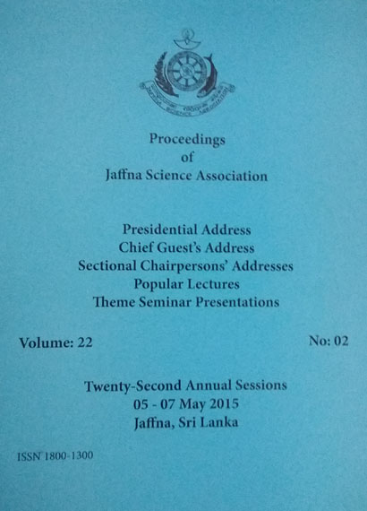 22nd Annual session - Presidential Addresses - 2015