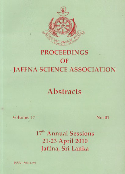 17th Annual session (Abstracts) - 2010