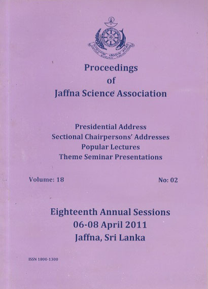 18th Annual session - Presidential Addresses - 2011