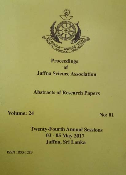 24th Annual session - Abstracts - 2017
