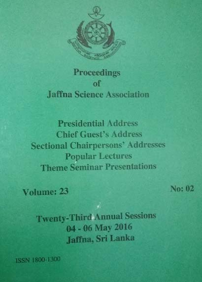 23rd Annual session - Presidential Addresses - 2016